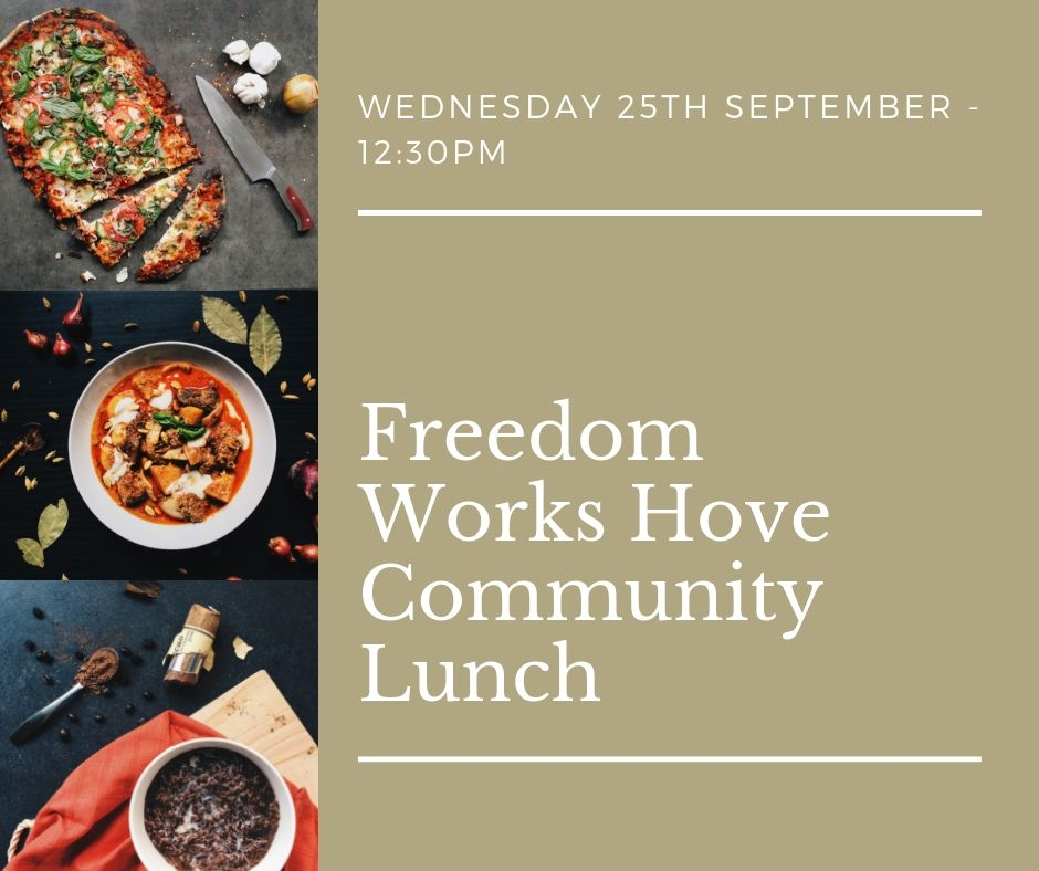 Community Meeting - Freedom Works Hove