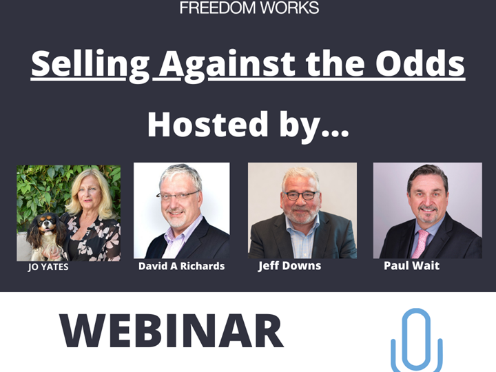 WEBINAR RECORDING - Selling Against the Odds