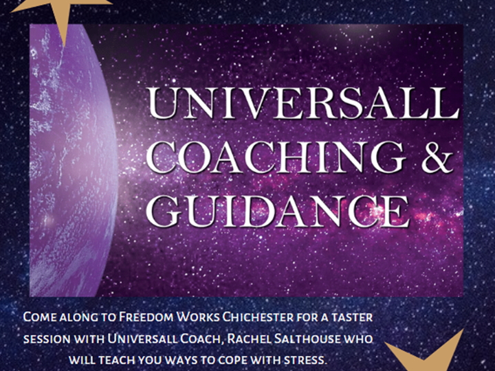 Stress management with Universall Coaching at Freedom Works Chichester