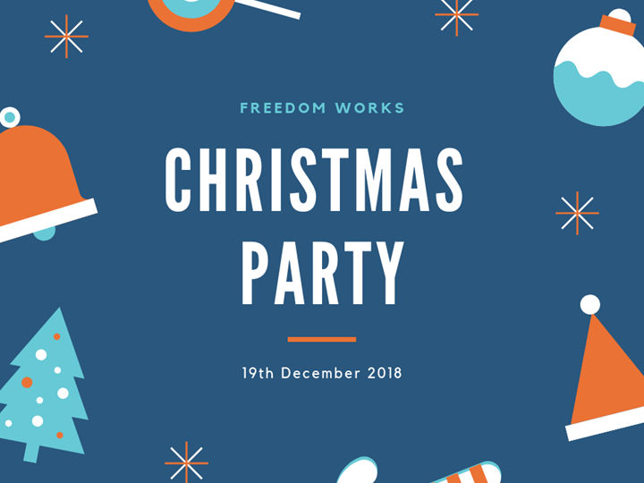Freedom Works Christmas Party