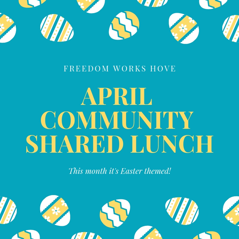 April Community Shared Lunch