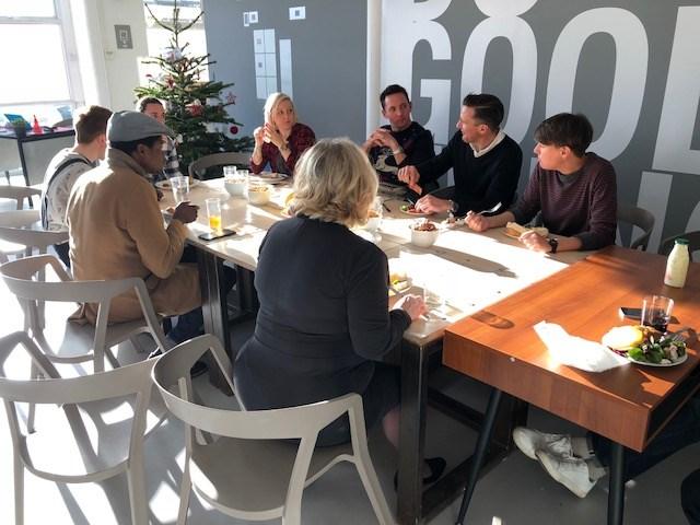 Freedom Works Hove Happy Christmas Celebration Lunch December 2017 Freedom Works Hove