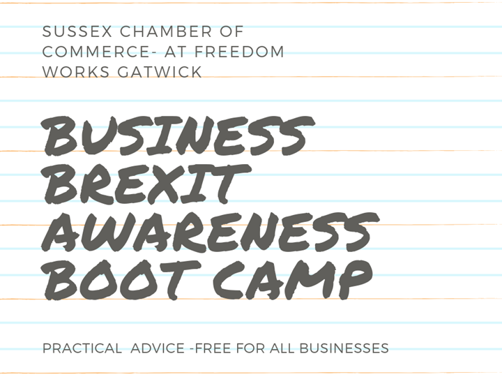 Business Brexit Awareness Boot Camp