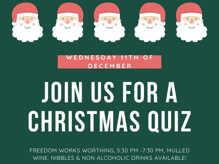 Freedom Works Worthing presents... The Christmas Quiz!!
