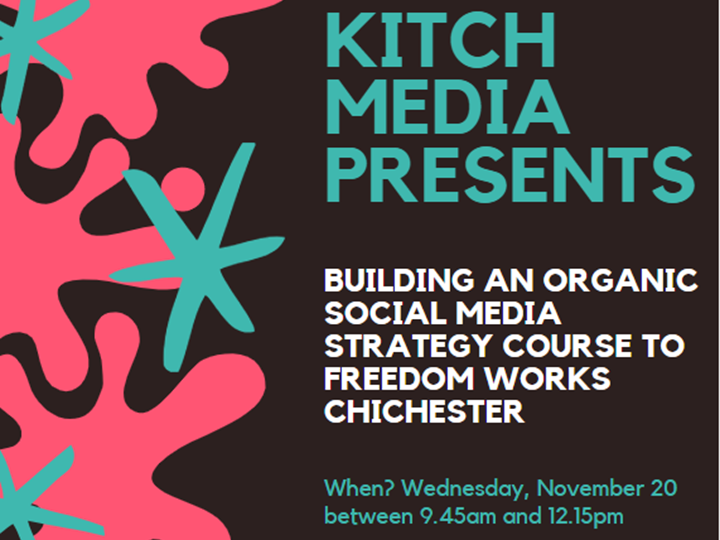 Building an Organic Social Media Strategy Course with Kitch Media