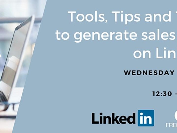 FREE ONLINE WORKSHOP - Tools, Tips and Tricks To Generate Sales Leads in LinkedIn