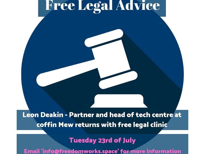 Free Legal Advice - Freedom Works Hove