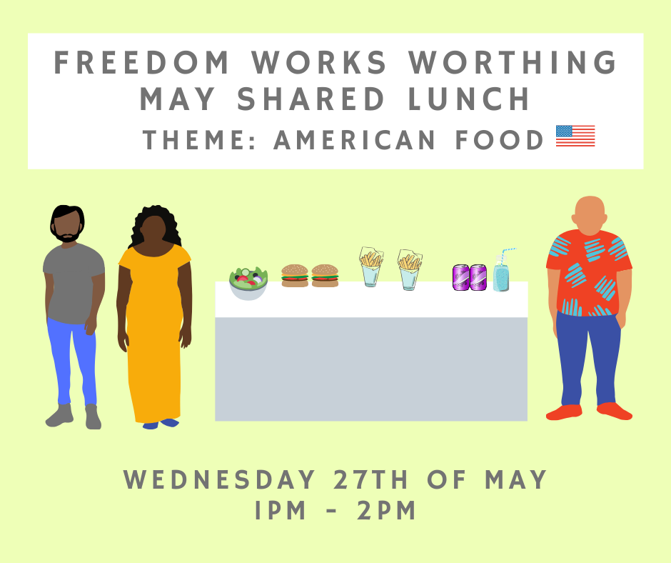 Worthing May Shared Lunch!