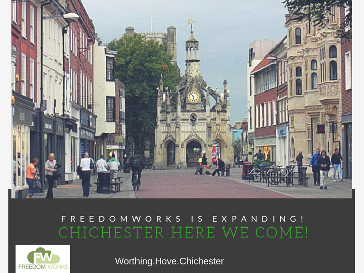 Freedom Works to Open up Chichester Co-Working Space!